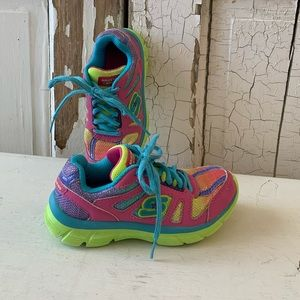 Skechers colorful sneakers Size 12